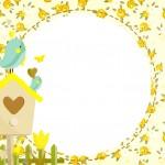 Convite Jardim Encantado Amarelo Provençal