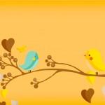 Convite Jardim Encantado Amarelo Provençal 3