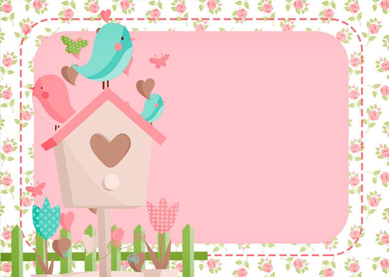 ideias de decoracao tema jardim : ideias de decoracao tema jardim:Jardim Encantado Provençal – Kit Festa Infantil