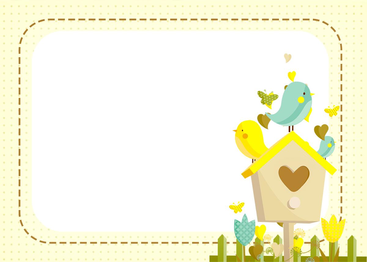 Convite, Moldura e Cartão 2 Jardim Encantado Amarelo Provençal