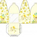 Convite com foto Jardim Encantado Amarelo Provençal