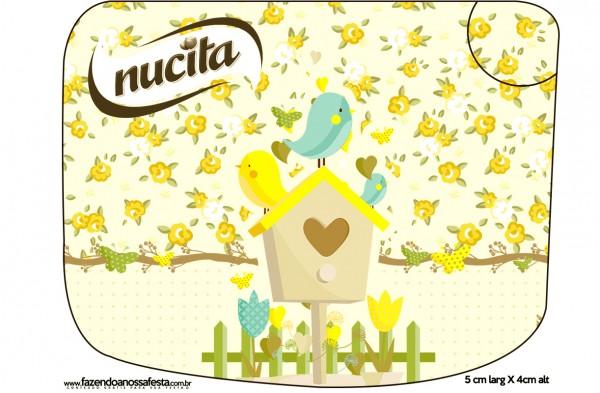 Creminho Nucita Jardim Encantado Amarelo Provençal