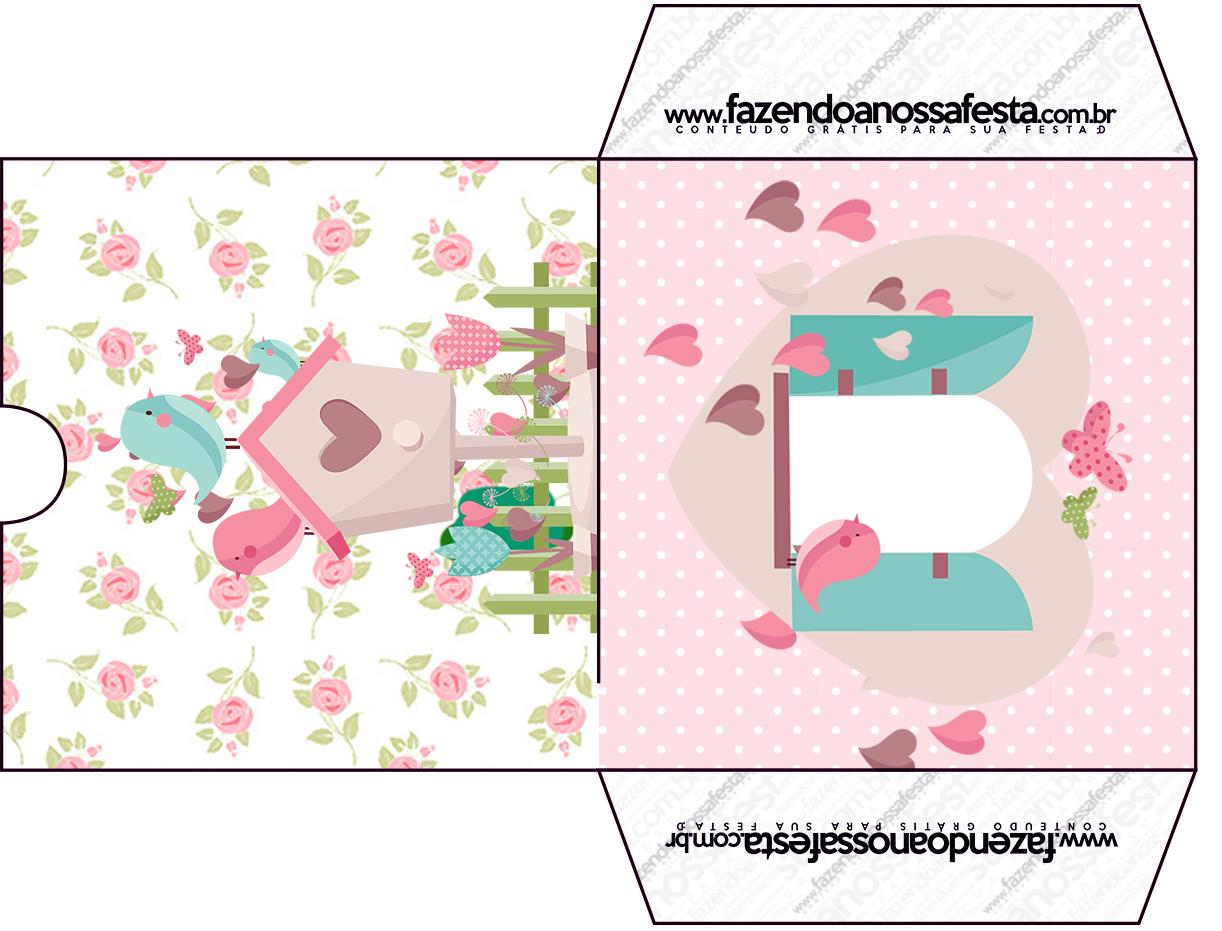 kit festa jardim encantadoEnvelope CD DVD Jardim Encantado Provençal