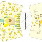 Envelope Fritas Jardim Encantado Amarelo Provençal
