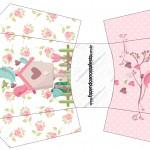 Envelope Fritas Jardim Encantado Provençal
