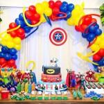 Festa Super-Heróis do Rafael