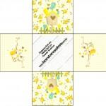 Forminhas Docinhos Jardim Encantado Amarelo Provençal