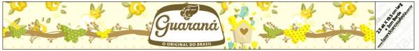 Guaraná Caçulinha Jardim Encantado Amarelo Provençal