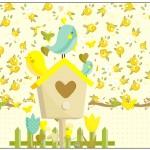 Lata de Leite Jardim Encantado Amarelo Provençal