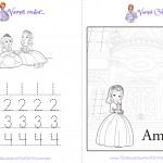 Livrinho para Colorir Princesa Sofia Pagina 6
