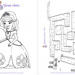 Livrinho para Colorir Princesa Sofia pagina 7
