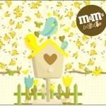 Mini M&M Jardim Encantado Amarelo Provençal