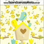 Mini Pastilha Docile Jardim Encantado Amarelo Provençal