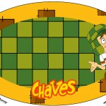 Placa Elipse Chaves