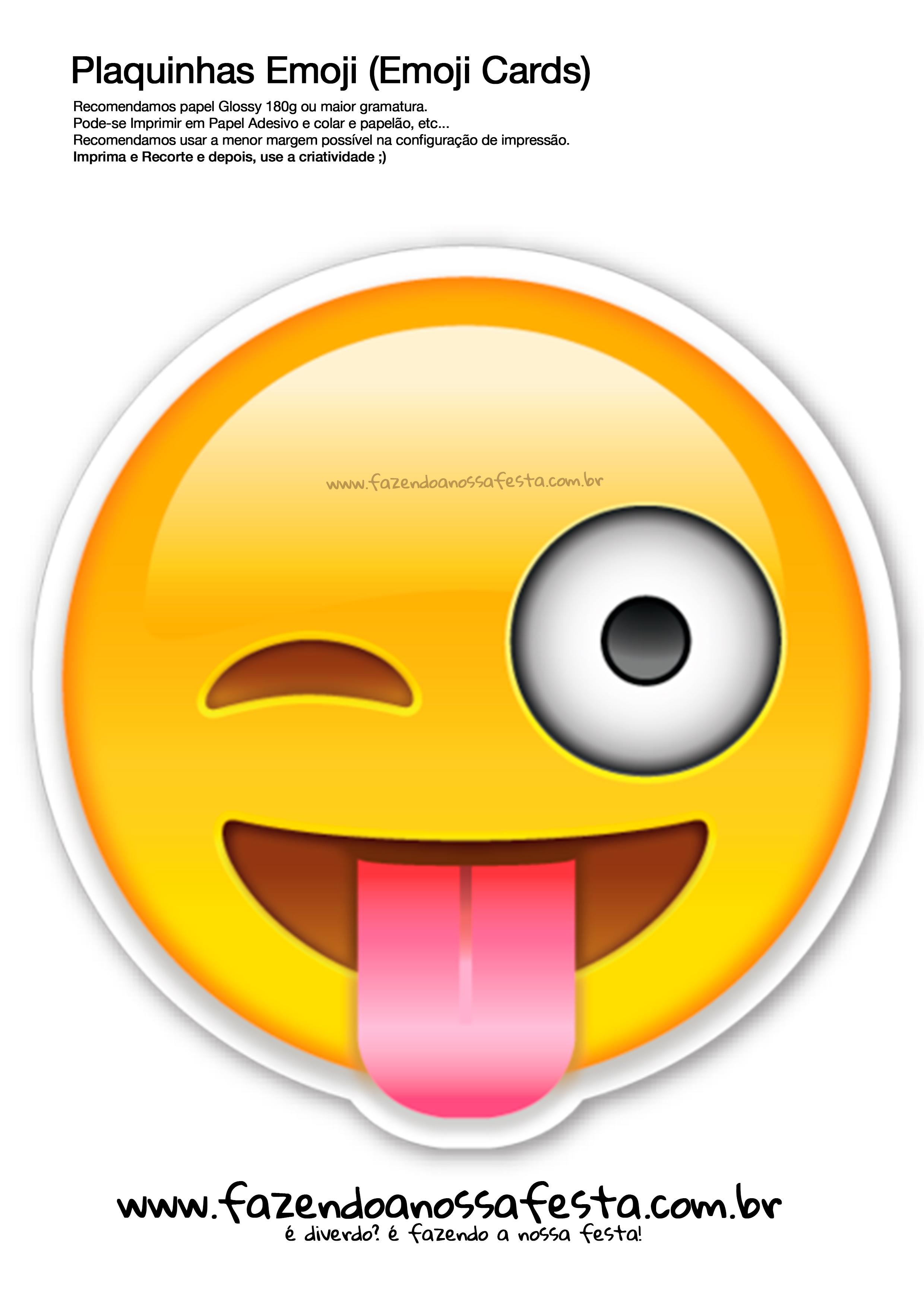 Plaquinhas-Emojis-105-Emoji-Card-Fazendo-a-Nossa-Festa ... Annoyed Smiley Whatsapp
