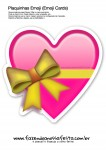 Plaquinhas Emoji Whatsapp Coração