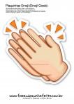 Plaquinhas Emoji Whatsapp Palmas
