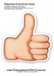 Plaquinhas Emoji Whatsapp 17