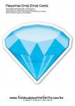 Plaquinhas Emoji Whatsapp Diamante