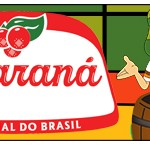 Rótulo Guaraná Caçulinha Chaves