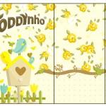 Rótulo Toddynho Jardim Encantado Amarelo Provençal