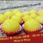 Receita Brigadeiro Milho Verde para Festa Junina