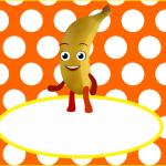 Rótulo Água Banana A Turma do Seu Lobato