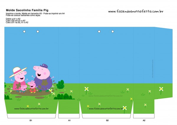 Sacolinha Surpresa Peppa Pig