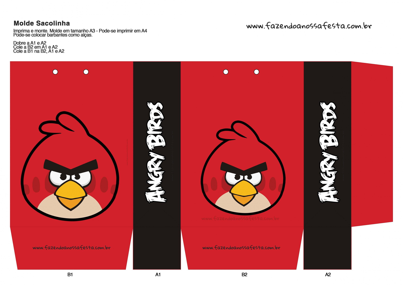 Sacolinha Angry Birds 11