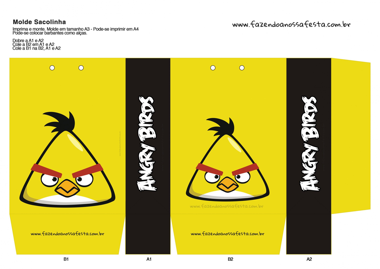 Sacolinha Angry Birds 12