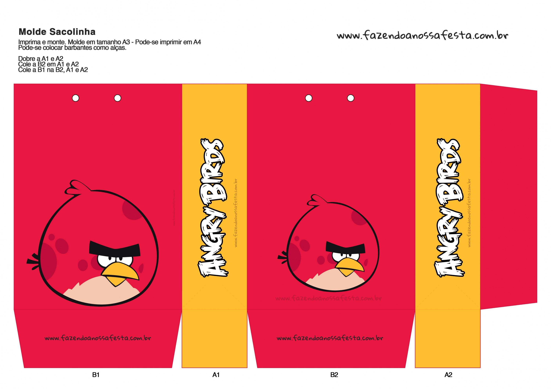 Sacolinha Angry Birds 13