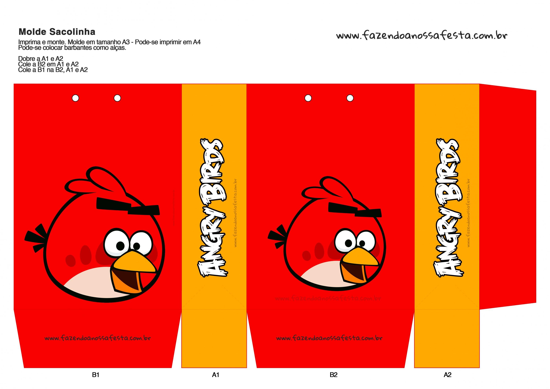 Sacolinha Angry Birds 14