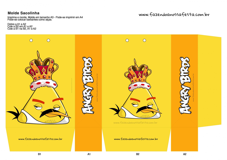 Sacolinha Angry Birds 16