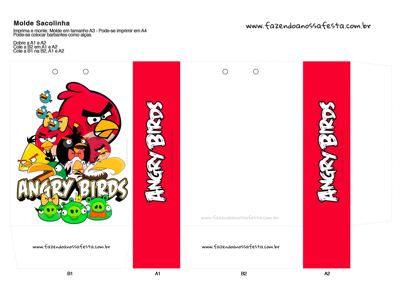Sacolinha Angry Birds 17