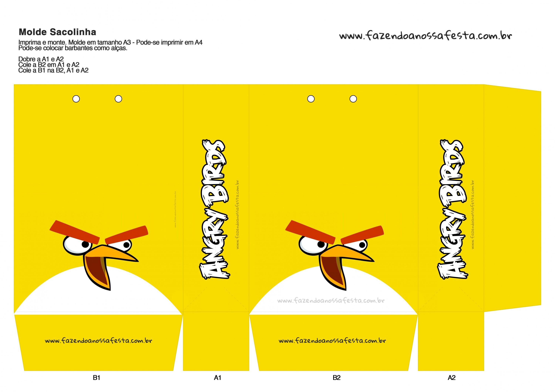 Sacolinha Angry Birds 2
