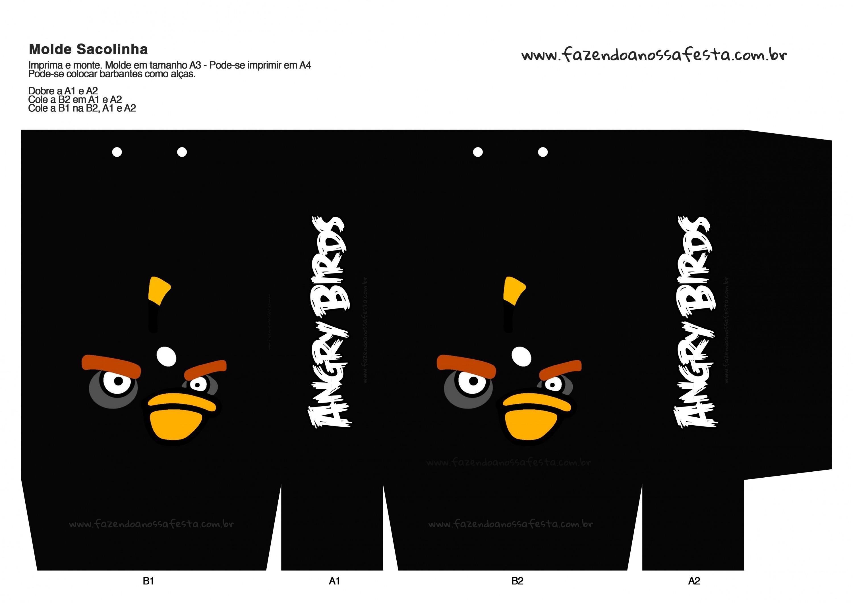 Sacolinha Angry Birds 3