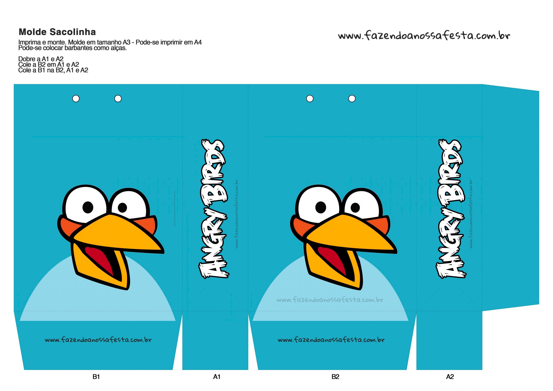 Sacolinha Angry Birds 4