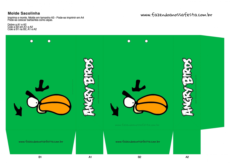 Sacolinha Angry Birds 6