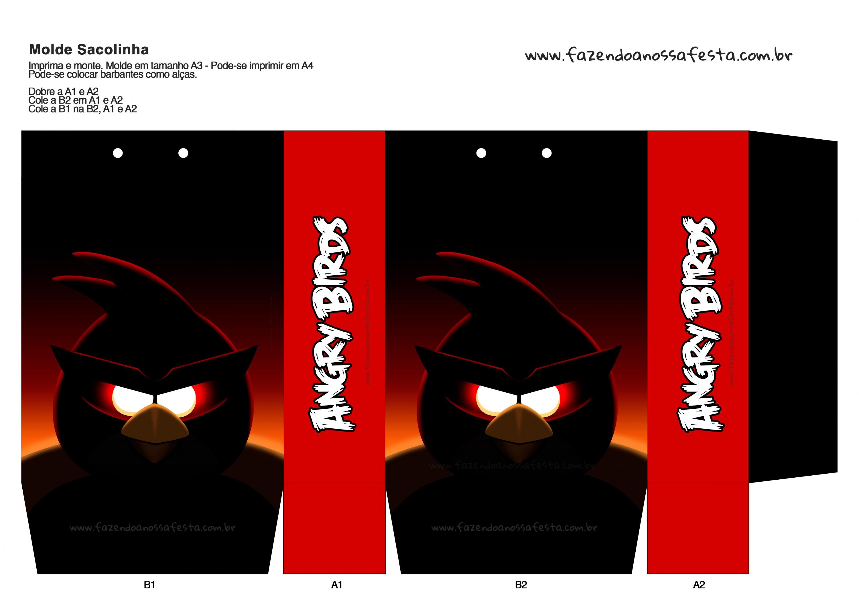 Sacolinha Angry Birds 7