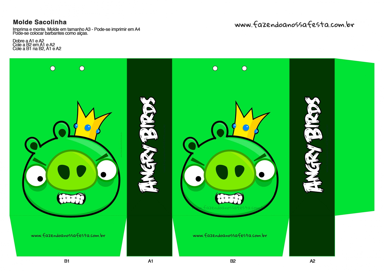 Sacolinha Angry Birds 8