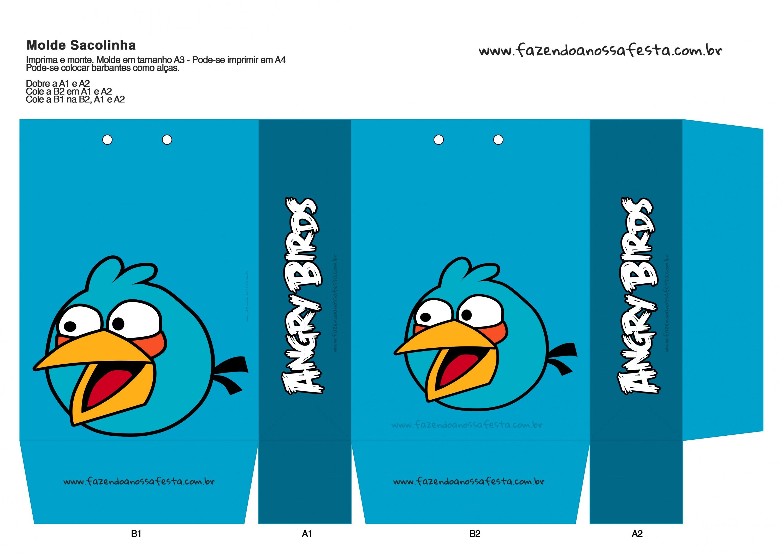 Sacolinha Angry Birds 9
