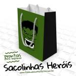 Sacolinha Lembrancinha Super-heróis – Pronta para Imprimir