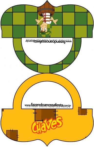 Saquinho de Balas Bolsinha Chaves