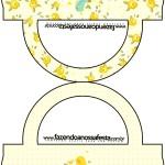 Caixa Convite Tampa Jardim Encantado Amarelo Provençal