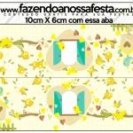 Saquinho de Balas Jardim Encantado Amarelo Provençal