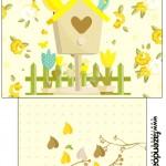 Saquinho de Chá Jardim Encantado Amarelo Provençal