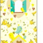 Tag Agradecimento Jardim Encantado Amarelo Provençal