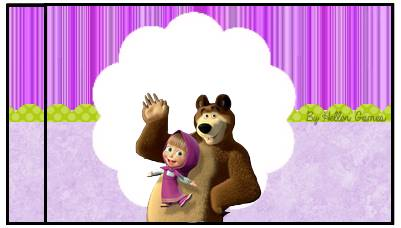 Tubetes Masha e o Urso