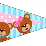 Bandeirinha Sanduiche 1 Chá Revelação