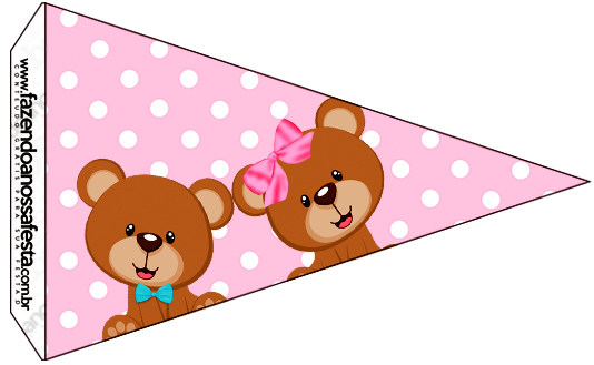 Bandeirinha Sanduiche 2 Chá Revelação